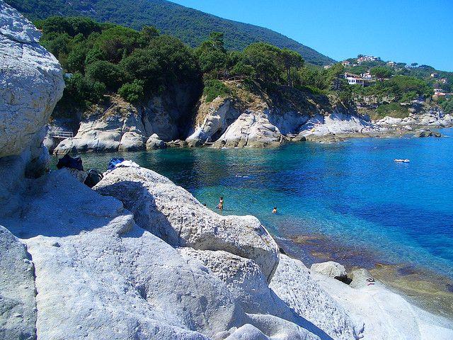 Elba, Italy, beach Cotoncello-Sant'Andrea