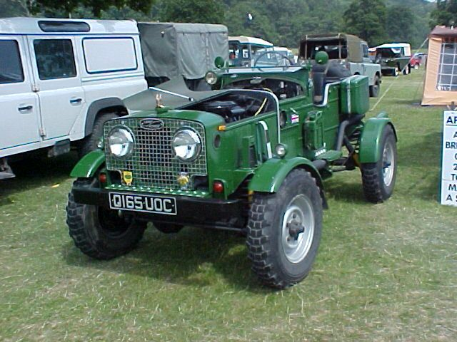 Land Rover roadster