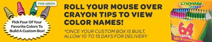 Custom 64 Pack | Crayola Store