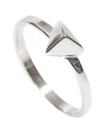 Meadowlark Triangle Stacker Ring