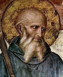 San Benito, abad, patrono de Europa