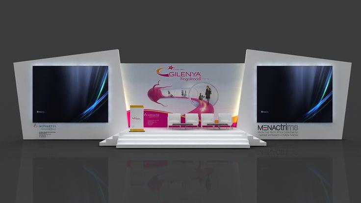 Gilenya brand Novartis EVENT on Behance