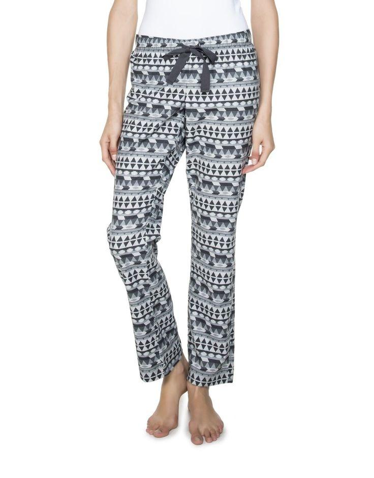 Print Flannel Pyjama Pants