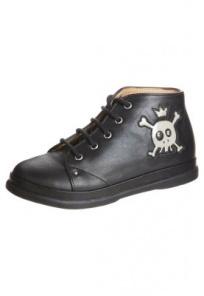 Pom d Api NEWFLEX SKULL Chaussures à lacets noir