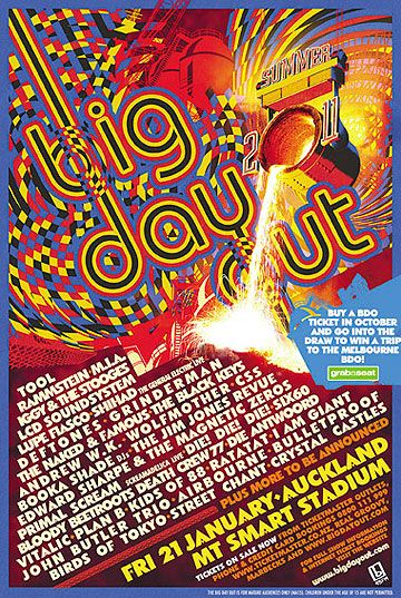 big day out poster - Google Search