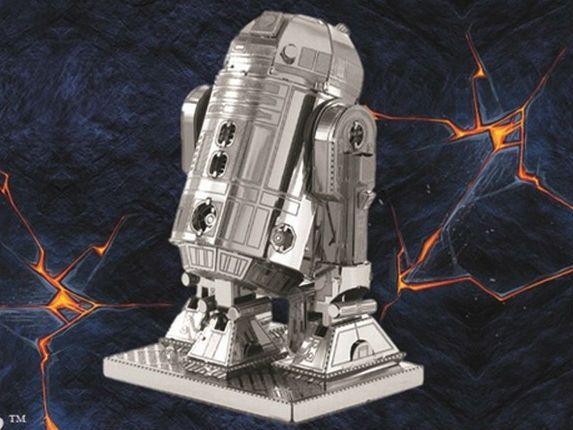 DIY 3D Metal Puzzles for children Model kids Toys Star Wars For Children/Adult Cartoon Robot X-Wing RT-RT Model R2-D2
