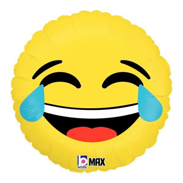 "LOL Emoji Balloon - 18"" Foil Mylar"