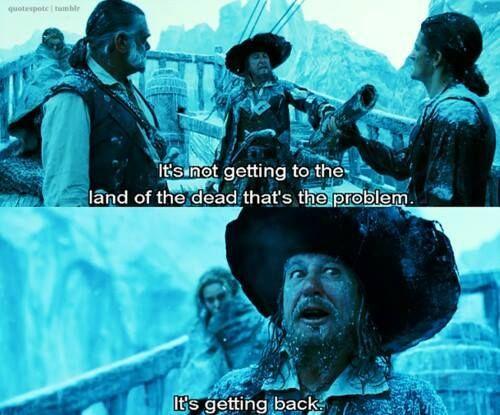 Captain Hector Barbossa ~