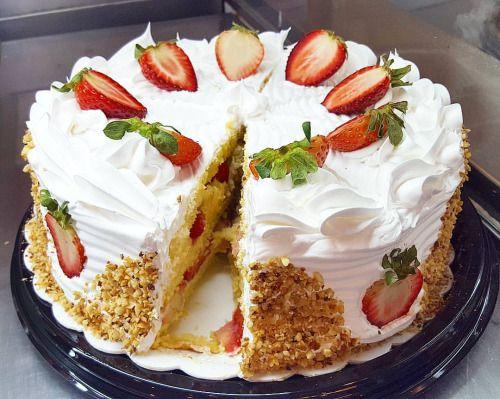 Torta de Morango ZERO AÇÚCAR #ZEROPOLOS (em Polos Pães e Doces)
