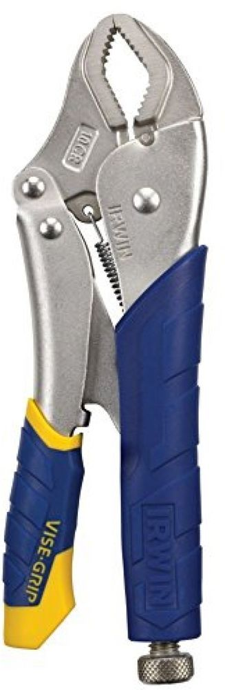 Vise-Grip Locking Pliers Heavy Duty Steel Garage Fast Release Curved Jaw 10-inch #IrwinTools