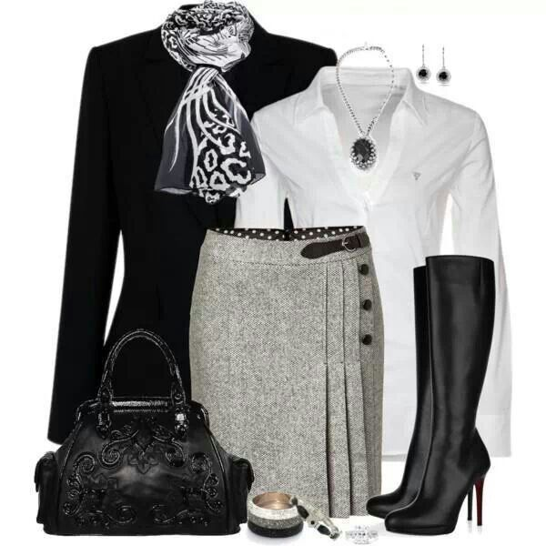 Very nicely put together.  Classic black and white.