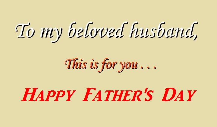 happy fathers day quotes from a wife