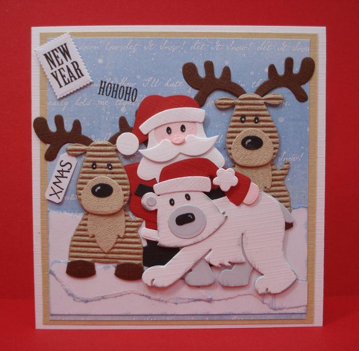 Maria's kaartjes: Hohoho en let it snow