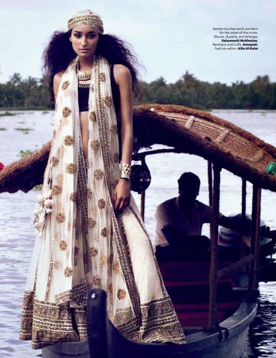MIX MARRIAGE shoot by Bazaar India