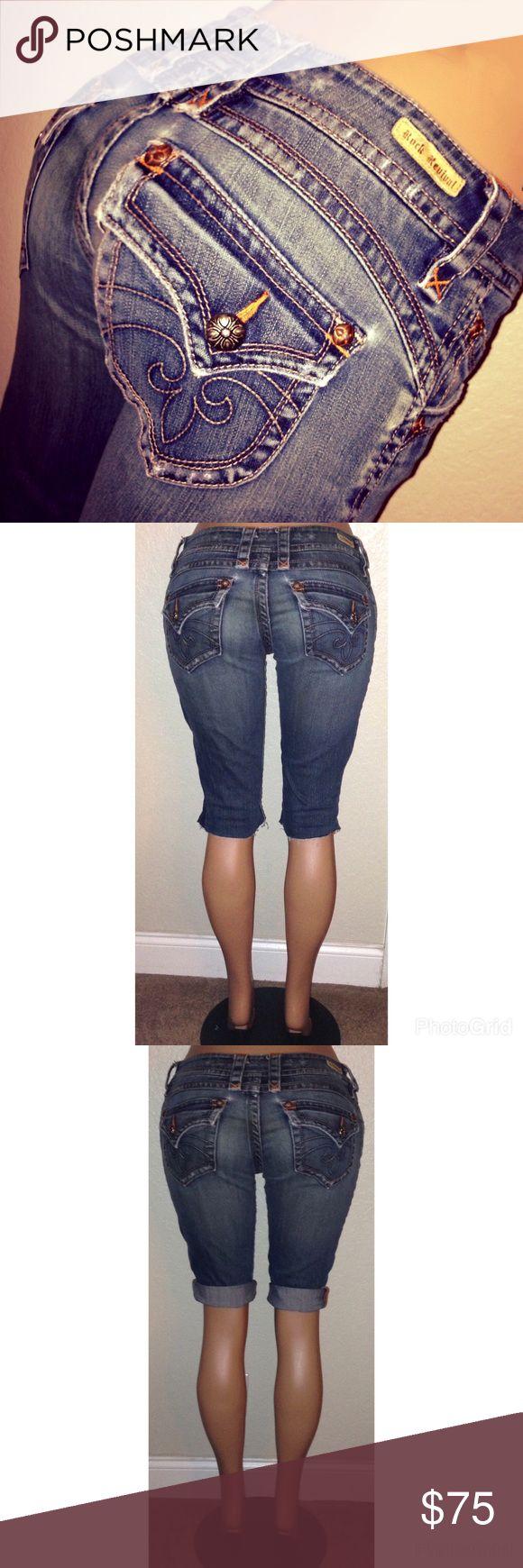 Spotted while shopping on Poshmark: Rock Revival Cut Off Capris Pedal Pushers Shorts! #poshmark #fashion #shopping #style #Rock Revival #Pants