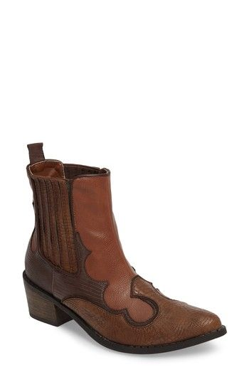 Free shipping and returns on Coconuts by Matisse Cavalier Boot (Women) at Nordstrom.com. Textured faux leather and classic stitching define a Western boot fitted with elastic-gore insets at each side for easy on and off.