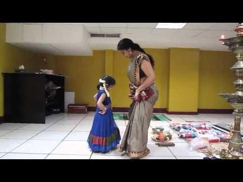 Aghosha s first dance class with asha sarath