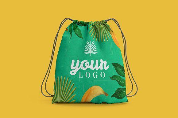 Download Drawstring Bag Mock Up Bag Mockup Drawstring Bag Mockup