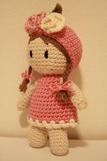 .I can imagine this wee girl having a dress and headband made in a little ones favorite color.