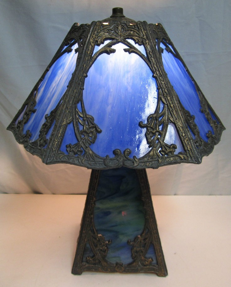 197 Best Images About Antique Slag Glass Lamps On