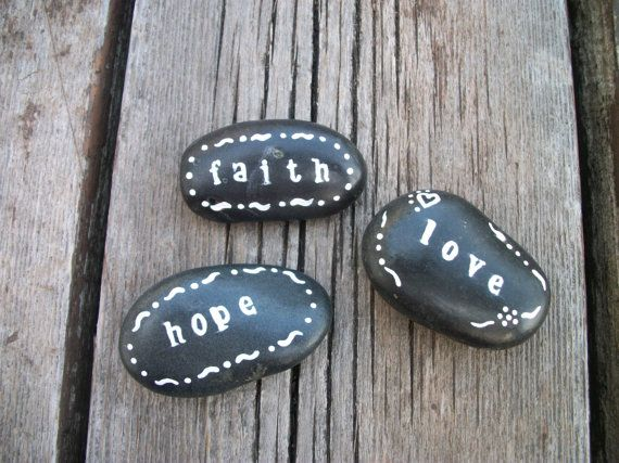 19 best bible verse stones images on pinterest beach stones faith hope and love inspirational stones bible verse stones painted rocks stones painted with inspirational words christian gifts negle Gallery