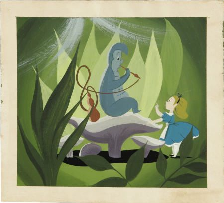 I <3 Mary Blair...especially the Alice in Wonderland concept art.  Beautiful!