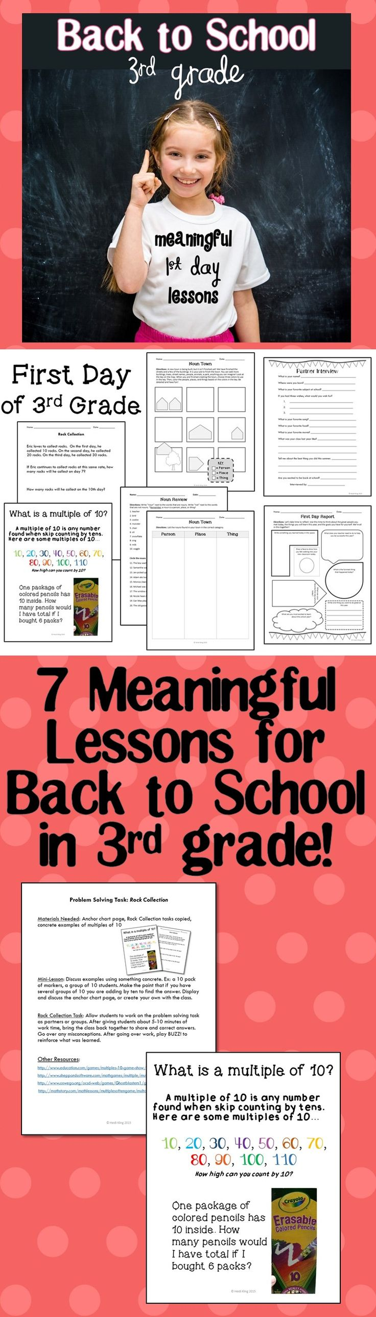 30 best first week of school images on pinterest