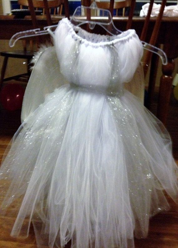 Baby Angel tutu dress Costume