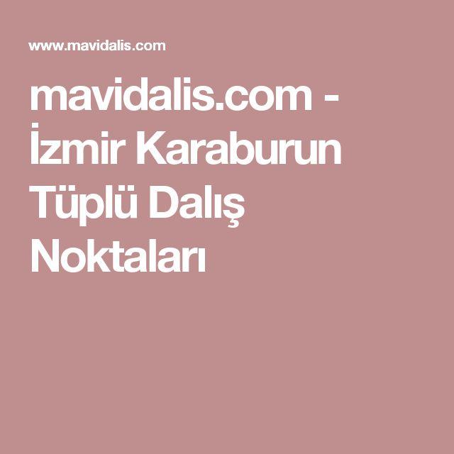 mavidalis.com - İzmir Karaburun Tüplü Dalış Noktaları