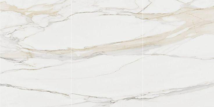 CALACUTTA ORO SIX+ VEIN MATCHED > QuantumSix+ > Quantum Quartz, Natural Stone Australia, Kitchen Benchtops, Quartz Surfaces, Tiles, Granite, Marble, Bathroom, Design Renovation Ideas. WK Marble & Granite Pty Ltd Australia.