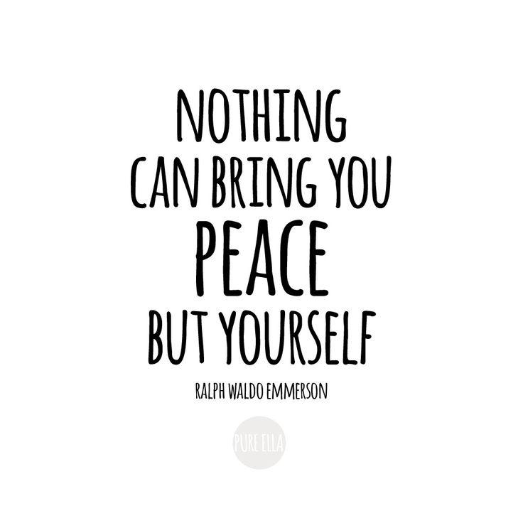 Monday Motivation : Finding Inner Peace