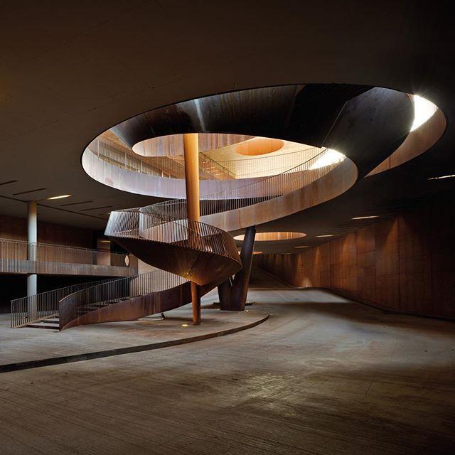 Antinori Winery by Archea Associati Architects (2012), Bargino Fl #Italy…