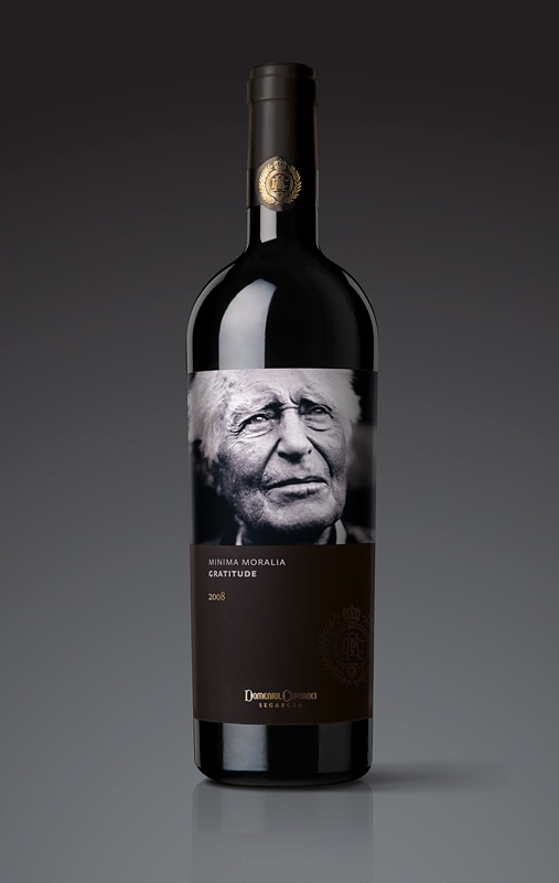 Gratitude, Red Wine Blend by Minima Moralia, Romania's Segarcea Vineyard