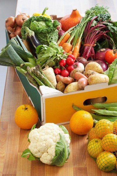 La dieta raw a base di frutta e verdura crude
