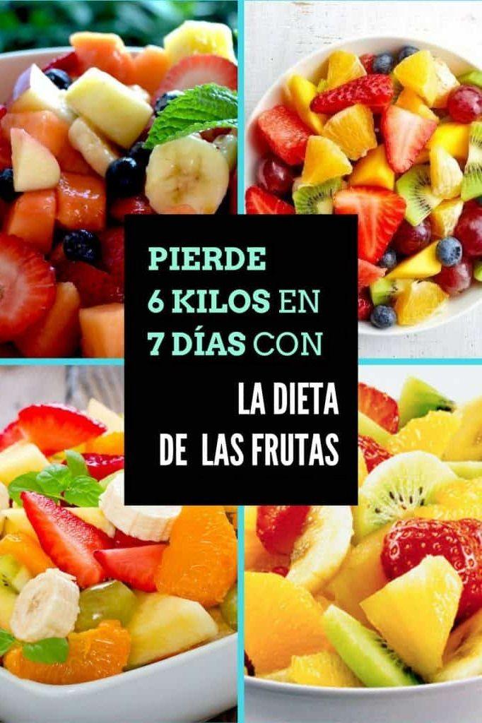 Para dieta adelgazar frutas