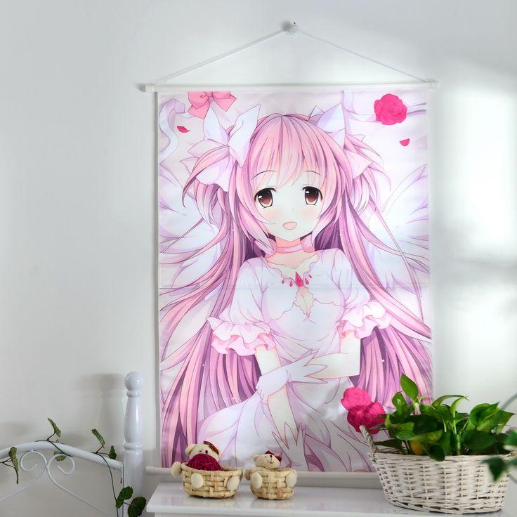 Anime puella magi madoka magica kaname painting by numbers
