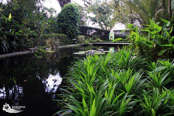 Tropical Spice Garden, a nice attraction on the island.