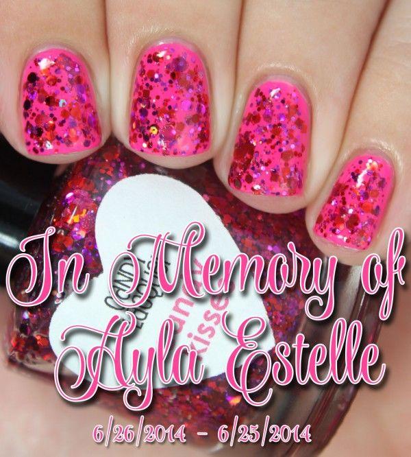 Sparkles For Ayla | In Memoriam - Peachy Polish