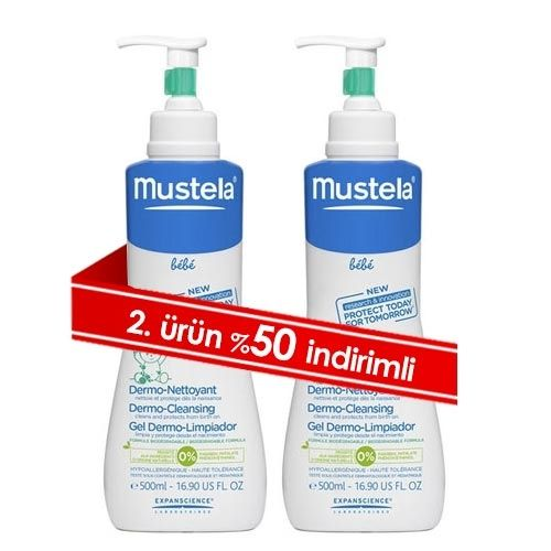 Mustela Dermo Cleansing 1 ALANA 2.si %50 İNDİRİMLİ | 73,35 TL | Dermoeczanem.com #mustela #dermocleansing #annebebek #bebekbakim