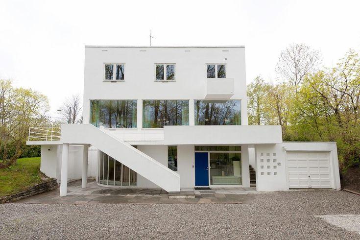 Villa Benjamin - En av Norges mest berømte villaer tegnet av Arne Korsmo