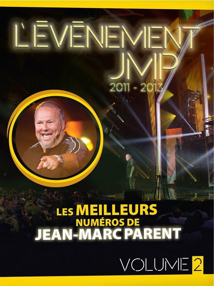L'événement JMP 2011-2013 Volume 2 - Jean-Marc Parent - Durée : 139 minutes -  Langue : Français -  Référence : 041734 #Dvd #Cadeau #Film #Humour #Spectacle