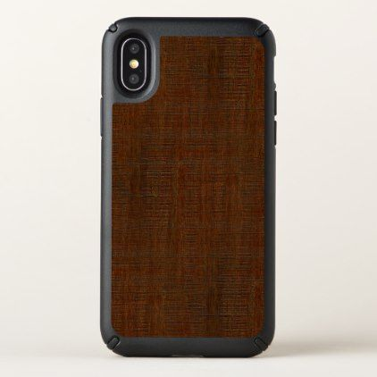 Rustic Bamboo Wood Grain Texture Look Speck iPhone X Case - barn wood gifts idea customize nature
