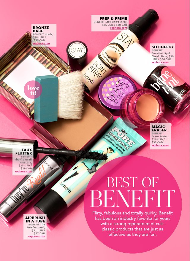 Flirty, fabulous and totally quirky, Benefit has been an industry favorite for years with a strong repertoire of cult-classic products that ...
