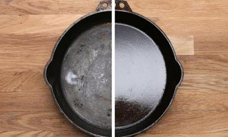 Voici la vraie façon de faire la cuisson avec un poêlon en fonte!