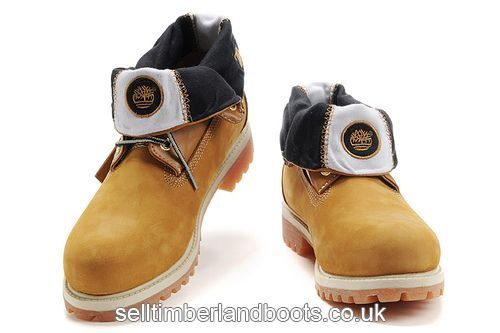 Women's Timberland Roll-Top Boots-Brown Wheat £71.20