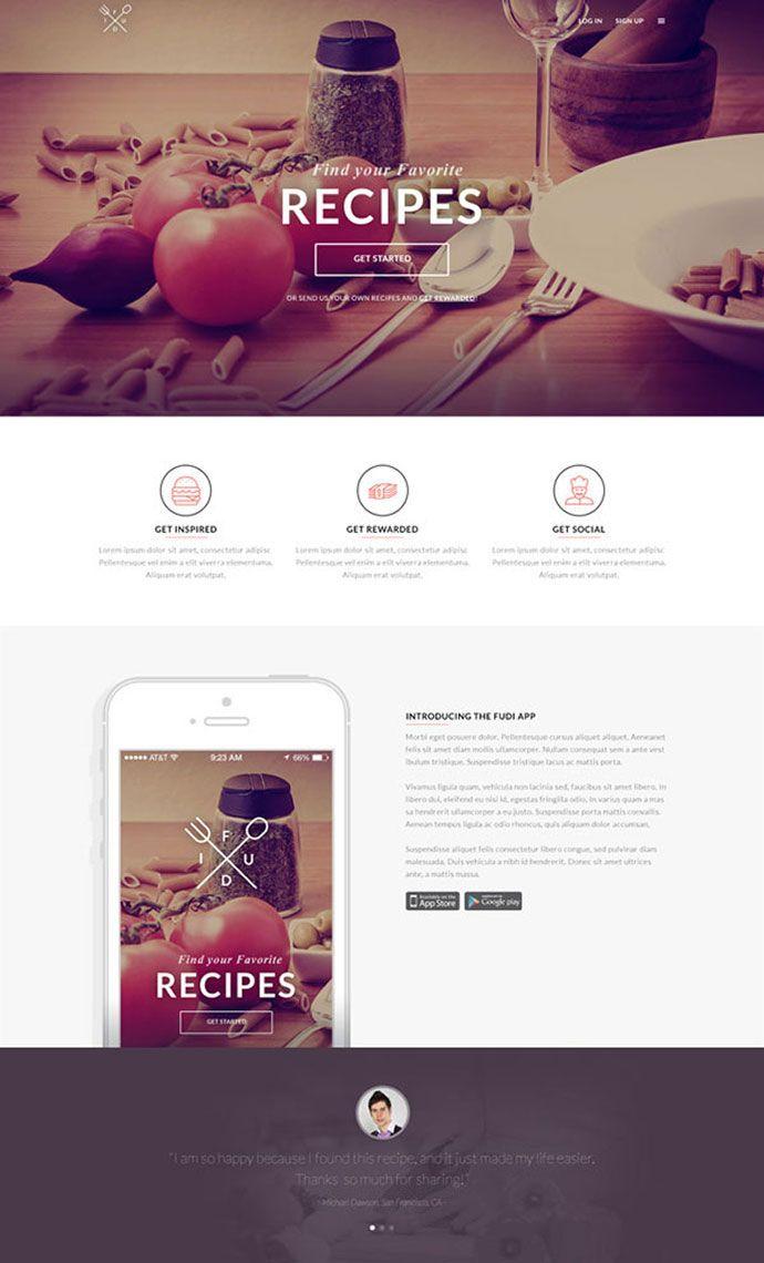 Best Brochure Images On Pinterest Brochures Creative - Brochure website templates