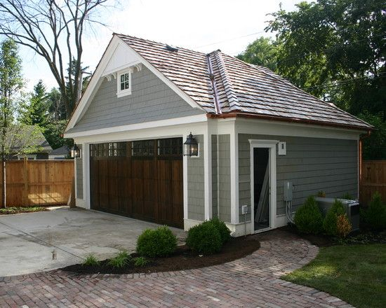 Best 25 detached garage designs ideas on pinterest for Wooden garage plans