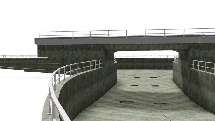 Unternehmensgruppe BUNG - Rahmenbauwerk mit Trogstrecke
