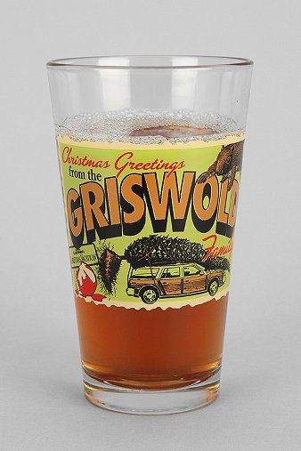 Griswold Family Christmas Pint Glass