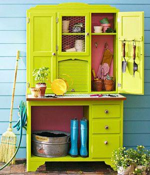 7 Simple Outdoor Storage Solutions - Jen Jones